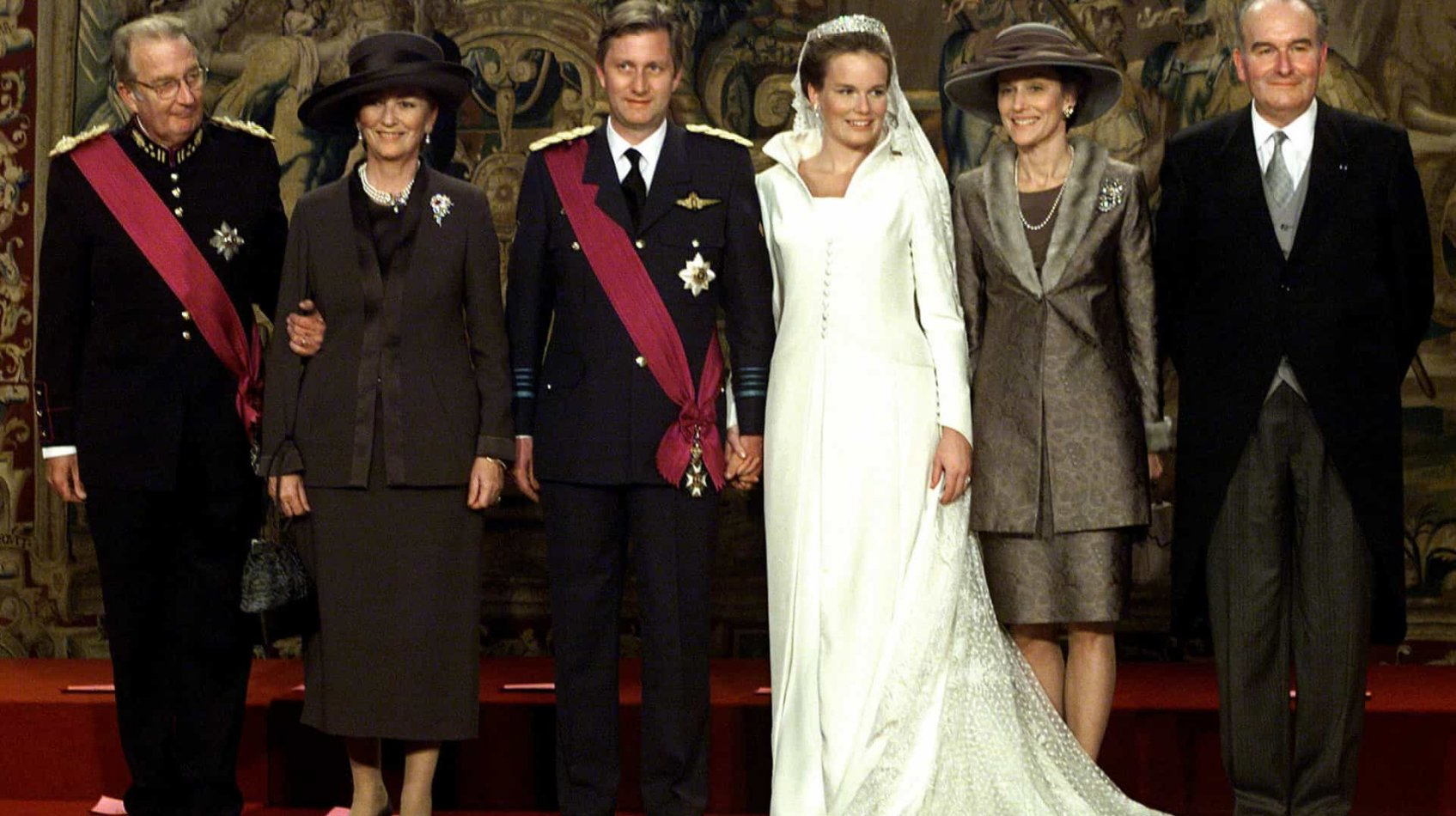 Queen Mathilde Wedding Dress